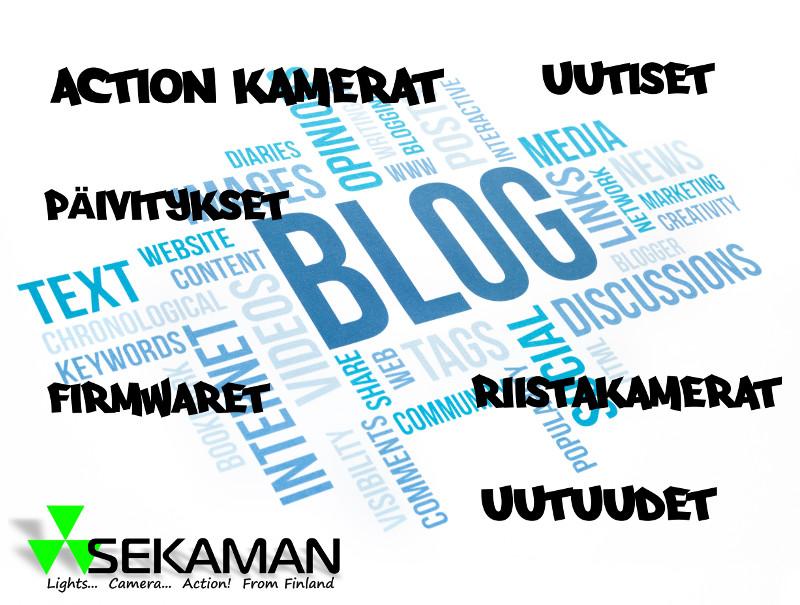 Blogi, Uutiset ja Uutuudet