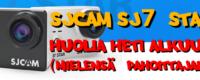 SJCAM SJ7 Star lippulaiva kameran Pieni miinus…
